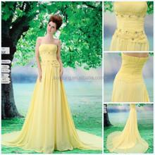 High quality real sample design evening dress