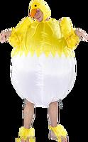 2015 hot sale inflatable chicken cartoon costume --24517