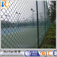 China manufacturer cheap galvanized stainless steel chain link fence( ISO9001)