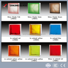 High quality color glass block from China