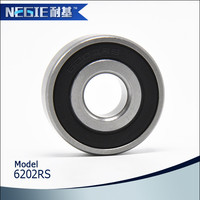 China supplier Cixi Negie factory manufactures precision cheap good quality 6202 high speed ball bearing
