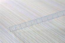 1mm/3mm/6mm/8mm/12mmlexan opal four wall hollow plasticpc roofing polycarbonate sheet