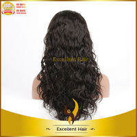 fast shipping 6-36inch accept custom support paypal brazilian remy human hair curly large head size high end full lace wigs