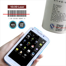 """5""""industrial android pda 3g,rfid/nfc reader ,barcode scanner"""