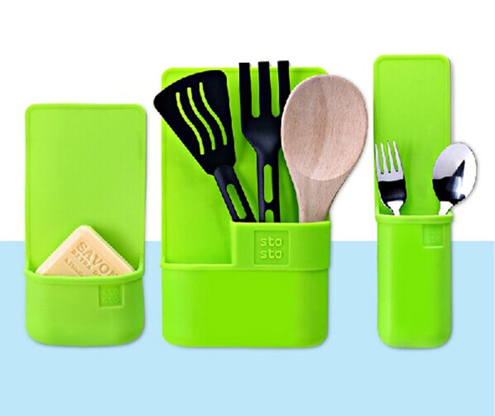 factory creative silicone storage bag for kitchen