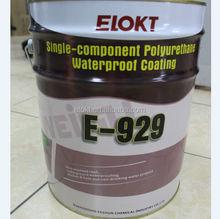 High Elastic Single Component Polyurethane Waterproof roofing coating