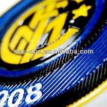 Professional sport garment accessory match exquisite engraved press mark pattern 3D custom patch