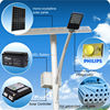 Multiple head light option professional solar street light supplier