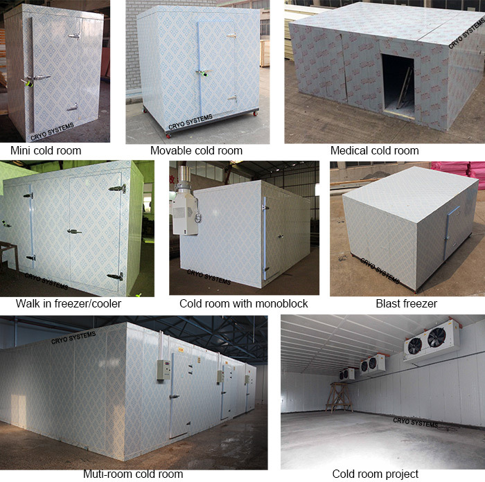 commercial warehouse meat and seafood refrigeration equipment suppliers for supermarket cold room