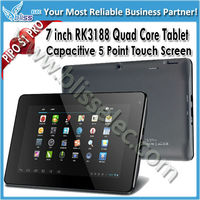 Best 7 inch RK3188 Quad Core computer tablet pc prices