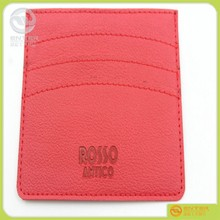 export rectangle and other shape Customized fashion pu leather id card holder,cheap credit card holder