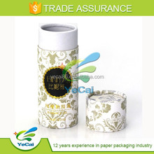 Customized Printed Packaging Paper Tube Cylindrical Cardboard Box