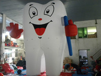 giant inflatable Advertising tooth/Inflatable promotion tooth model for sale