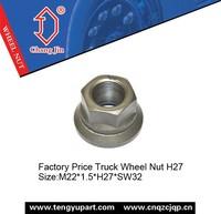 Factory Price Truck Wheel Nut H27