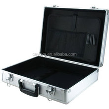EN-AC-BY-13450C Aluminum Laptop and Test Equipment Silver Hard Case, 17.7 x 13.3 x 9.6 Inches