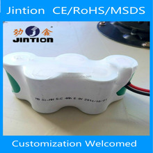 Jintion standard vacumn cleanser rechargeable Nimh C 4000mAH 6V battery pack