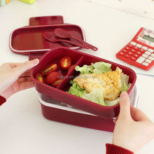Walmart Sedex Manufacture Supply Kids or Children Plastic Lunch Boxes
