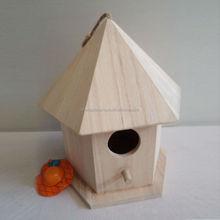 2015 hot sale wooden bird house