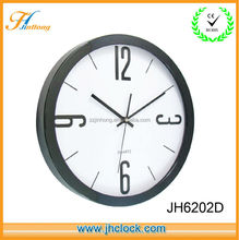 16inch Plastic Round Basic Style Wall Clock Can print Customized Clock Dial Design
