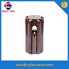 12kv high tension electrical glazed porcelain stay insulator