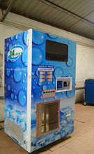 24 hours service ice maker with packing system