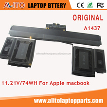 "100% new Genuine original A1437 battery for Apple Macbook pro A1425 13"" Retina 2012 laptop"