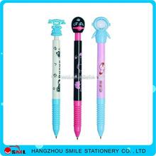 school supplier felt blue and white porcelain pen