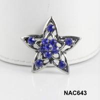China alibaba women wholesale star snap charm accessory free sample NAC643