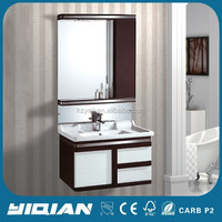 Hot Sell Quality Mirrored Hang PVC Cabinet Designs with Storage Cabint