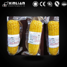 Heat shrink corn vacuum packaging ,sweet corn vacuum bag