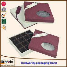 homemade chocolates gift boxes/special chocolate packaging box/fancy paper chocolate gift packaging boxes
