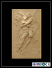 2015 high standard waterproof wall women relief sculpture
