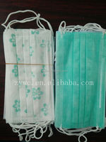 Printed Medical Nonwoven Disposable Face Mask/ Surgical Face Mask