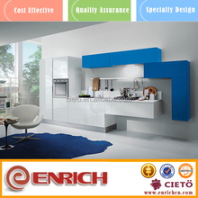 2015 new kitchen cabinet with different color combinations design