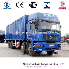 Buying shaanxi cargo truck 8x4 big van