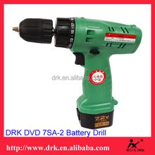 Top performance professional cordless tool combo kit 7.2V batteries cordless driver drill