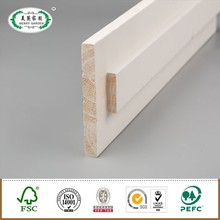 Wood white finish Double Wood Rebated door jambs