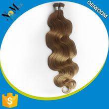 2015 New Design remy human hair extensions for white people Silky Straight Wave 8 inch hair extensions