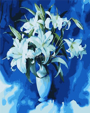 Wholesale DIY flower oil painting by number
