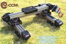 High Precision Linear XY stage CCM W60 ball bearing toothed belt motorized customized length linear rail linear guide