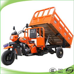 200cc water cooling hydraulic dumper tricycle