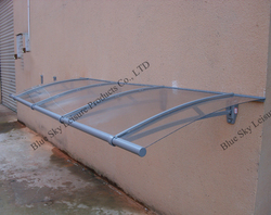 Aluminum polycarbonate outdoor canopy metal roof