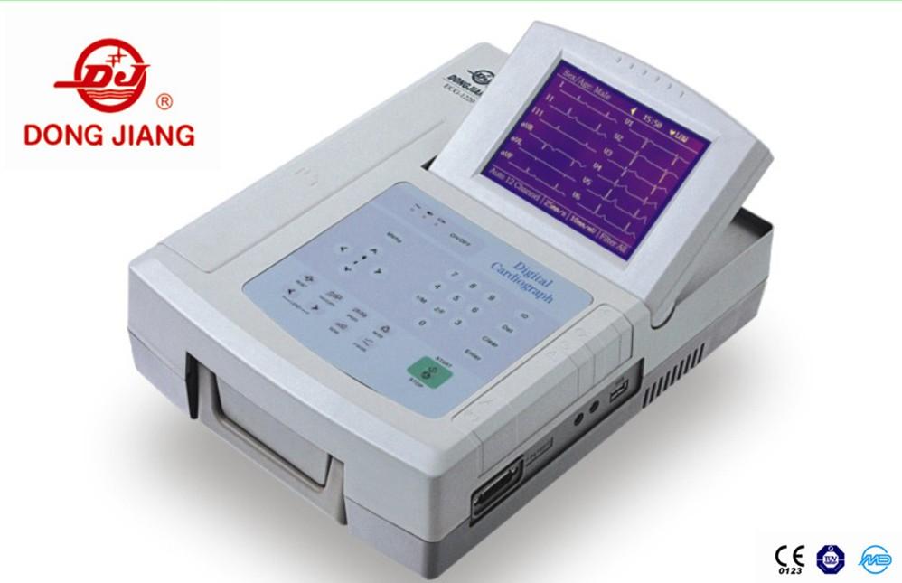 6 Channel LCD Screen EKG Machine