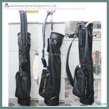 black leather pencil bag golf,golf pencil bag,pencil bag golf