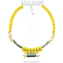 Free samples hawaii jewelry and african beaded jewelry wholesale,gold pendant necklace initials A4104