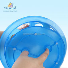 Puppy Dog Ct Slow Eating Plastic Feeder Bowl