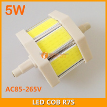 5w retrofit led r7s light replace double ended halogen bulb