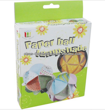 art and craft paper ball home,kids activity craft