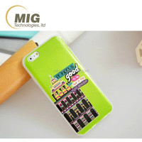 New design Sublimation coloful painting drawing fairytale castles tpu case cover for iphone 6 6s