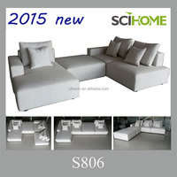 design furniture living room sets modern fabric sectional sofa
